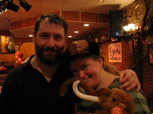 Fiddle Player and Fangirl and Mammoth