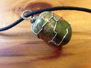 Unakite Necklace