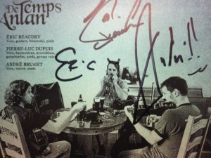 "Signed, ""Enhanced"" CD"