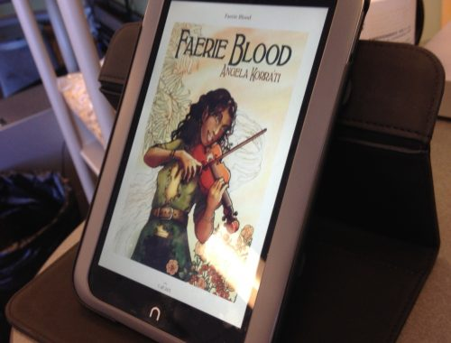 Faerie Blood on the Nook HD