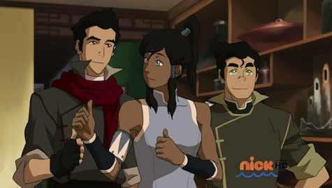 Mako, Korra, and Bolin