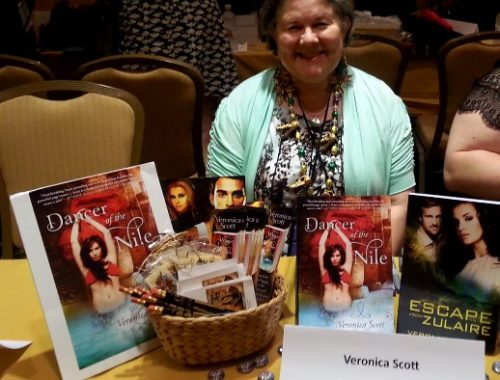 Veronica Scott Book Signing